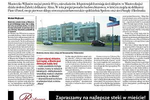 """""""Gazeta o Wilanowie"""" ju� jutro w sto�ecznej """"Gazecie Wyborczej"""""""