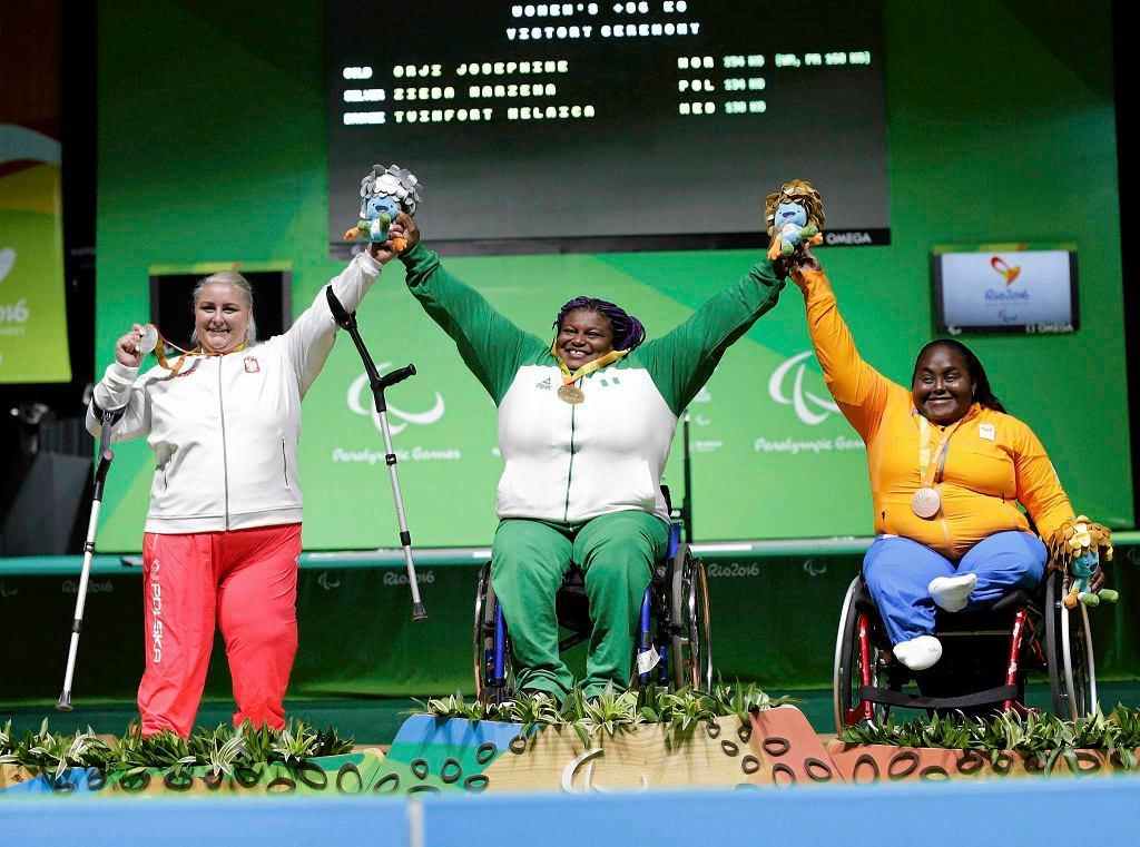 Zdjęcie numer 4 w galerii - Igrzyska paraolimpijskie w Rio. Marzena Zięba: medal, który przyśnił się kilka razy