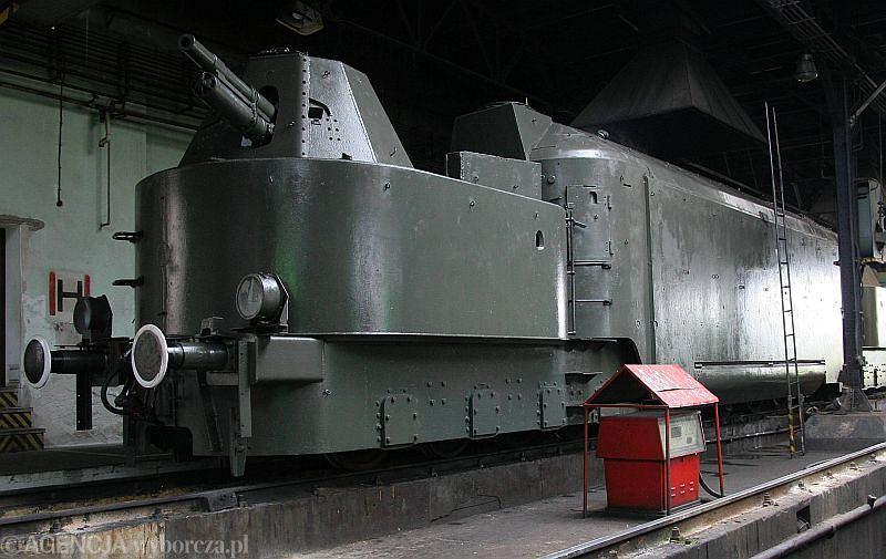 Niemiecki pociąg pancerny