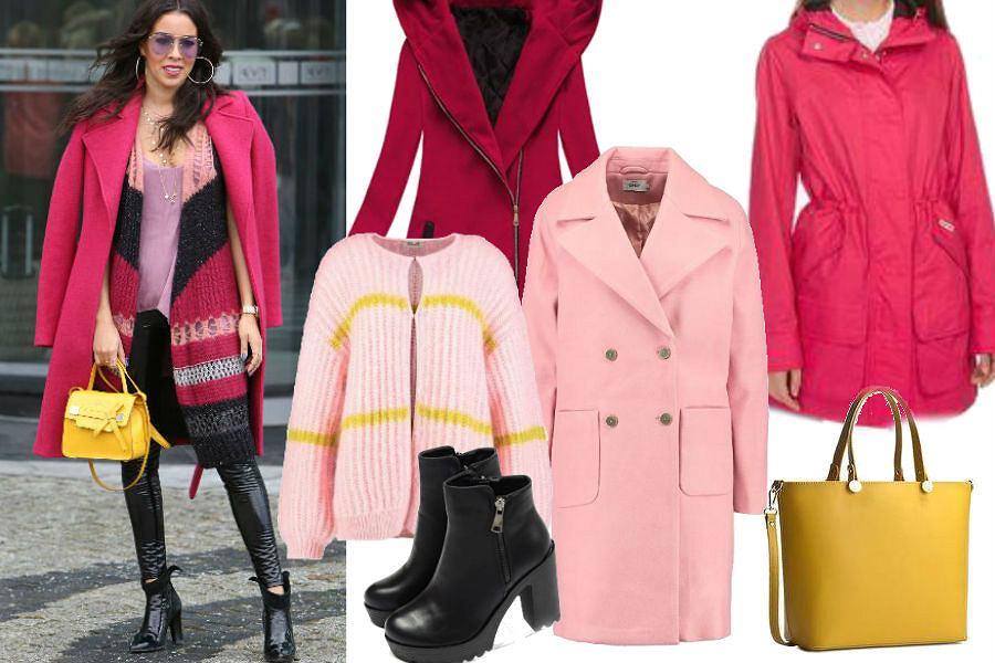 fot. WBF/ kolorowe płaszcze na zimę