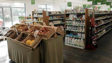 Samoobsługowy sklep Bio Family Supermarket
