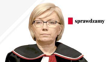 Julia Przyłębska, prezes Trybunału Konstytucyjnego