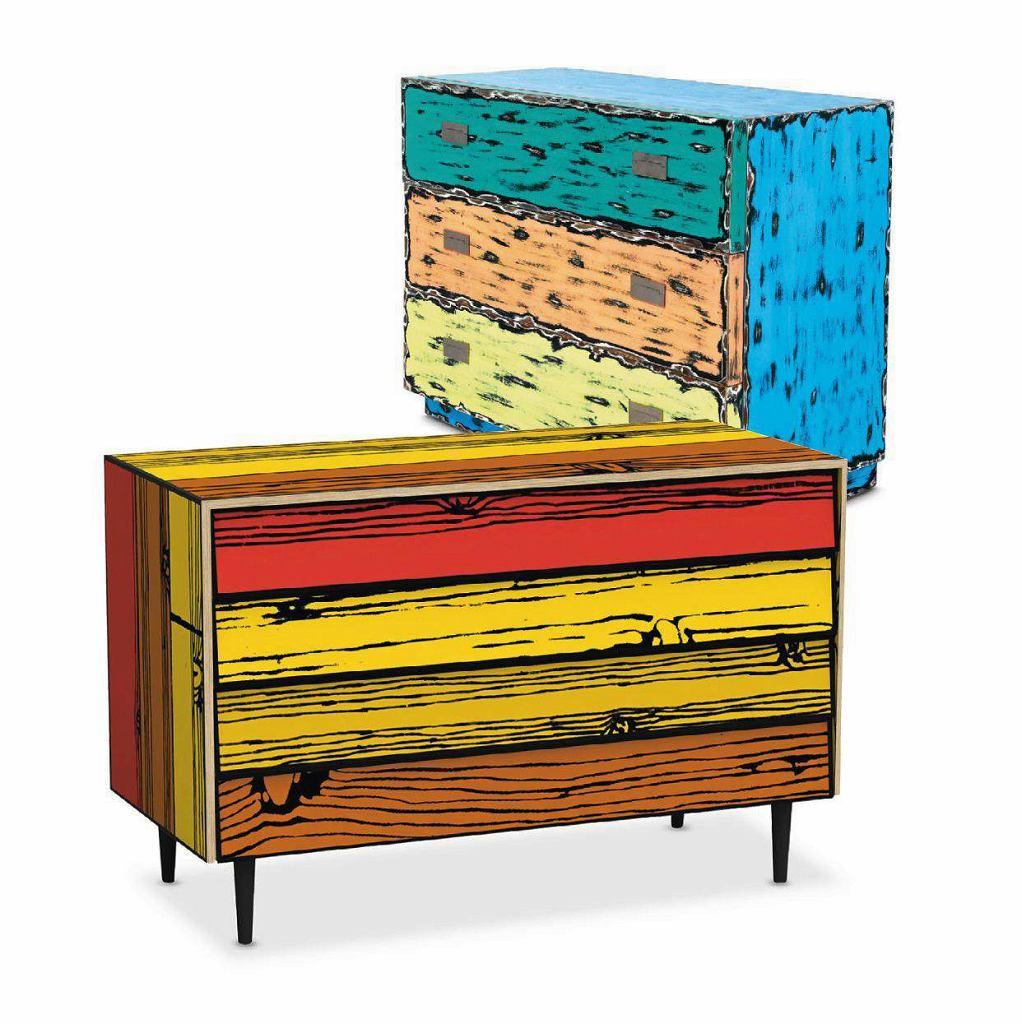 Jeśli wypatrzysz rzecz, która idealnie odpowiada twoim oczekiwaniom i gustowi, odwiedź jeszcze inne sklepy. Często bywa, że zakupy można zrobić znacznie taniej. <BR /> KOMODY  Wyżej: Riff RFF, malowane drewno topoli, 100 x 45 cm, 2290 zł, 9design.pl Niżej: Wrongwoods Drawer, oklejana i malowana sklejka, 109 x 51 cm, 15 282 zł, indivi.sklep.pl
