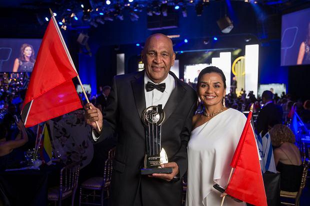 Satyakama 'Kama' Maharaj, twórca kosmetyków Sacha, zwycięzca konkursu Przedsiębiorca Roku EY z Trynidadu i Tobago