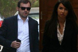 Marta Kaczy�ska i Marcin Dubieniecki w s�dzie. Rozprawa trwa�a oko�o 40 minut [ZDJ�CIA]