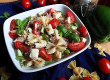 Sałatka włoska z makaronem - ugotuj