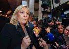 Marine Le Pen obra�a i kusi