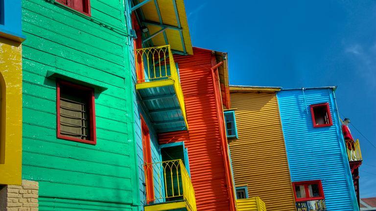 Argentyna Buenos Aires - La Boca / Shutterstock