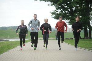 Rodzina bieganiem silna. Ile ju� przebiegli razem?