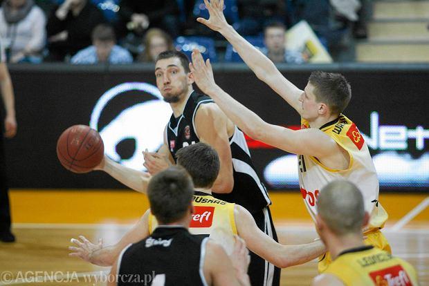 10.04.2014 Sopot . Mecz koszykowki Tauron Basket Liga Trefl Sopot - Czarni Slupsk . Fot. Dominik Sadowski / Agencja Gazeta