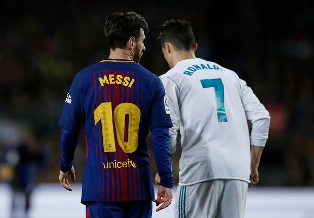 Leo Messi i Ronaldo