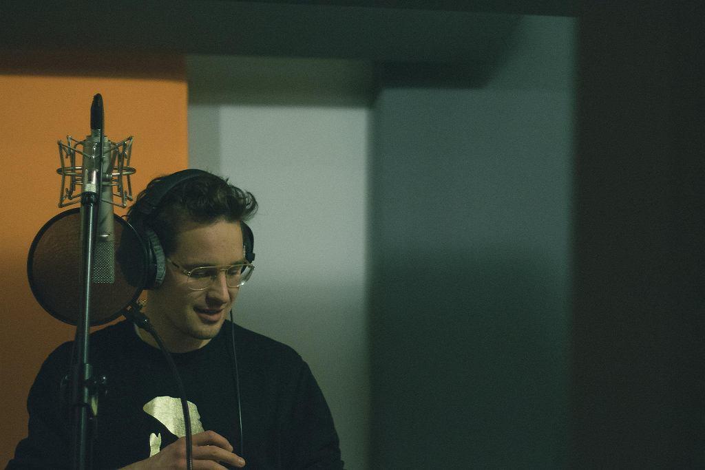 Krzysztof Zalewski podczas nagrania albumu Albo Inaczej 2 / PAWEŁ ZANIO