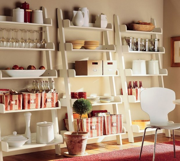 Organizacja rzeczy na półkach