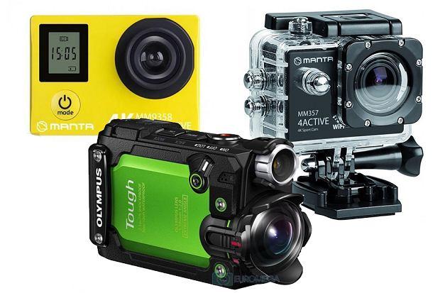 Tańsze kamery sportowe