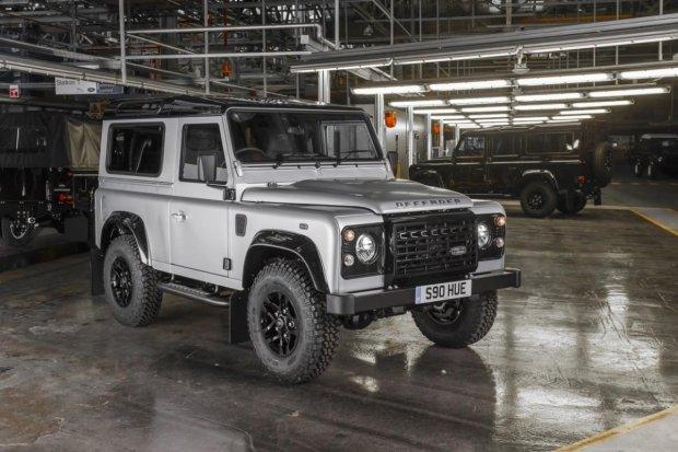 Wideo   Land Rover Defender   Zbudowa� go Bear Grylls