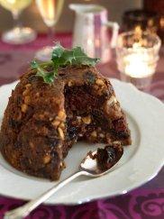 Brytyjski pudding �wi�teczny ze �liwk� kalifornijsk�