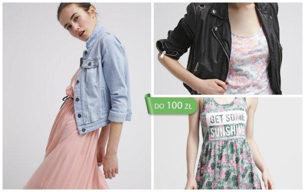 Sukienki z d�erseju do 100 z� - wybierz idealn� sukienk� na lato