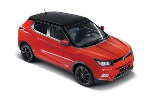 TIVOLI - to nowy, zgrabny crossover w kolekcji koreańskiego specjalisty od aut 4x4 - SsangYong.