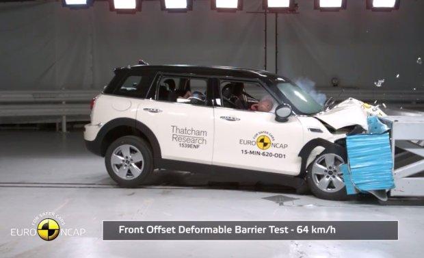 Mini Clubman testy Euro NCAP