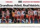 Atletico w finale! Screen z serwisu dziennika MARCA