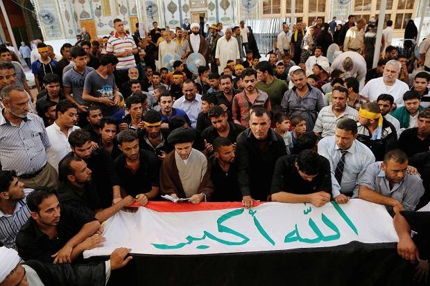 Zwolennicy re�imu Baszara el-Asada