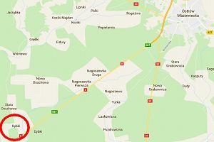 Tragiczny wypadek na Mazowszu. W ciężarówce pękła opona. Trzy osoby nie żyją