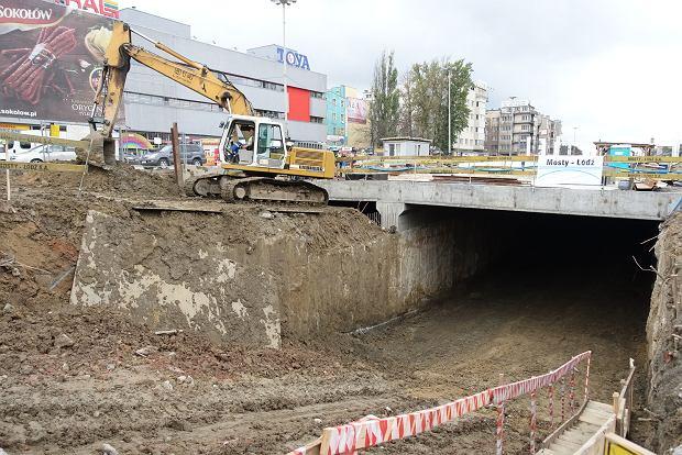 Tunel Trasy W-Z przebity. 246 metr�w pe�ne elektroniki