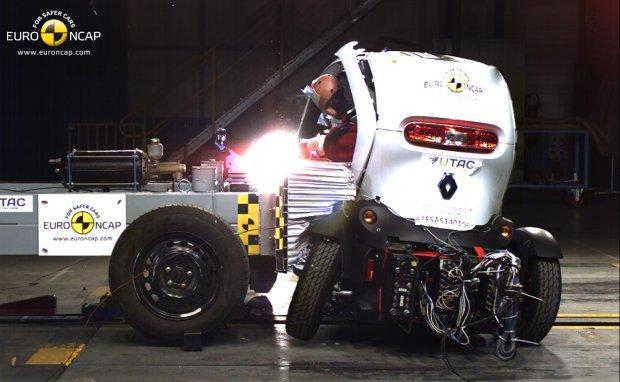 Przera�aj�ce wyniki test�w Euro NCAP | W tych pojazdach mo�esz zgin��