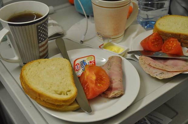 Posiłek z łódzkiej porodówki