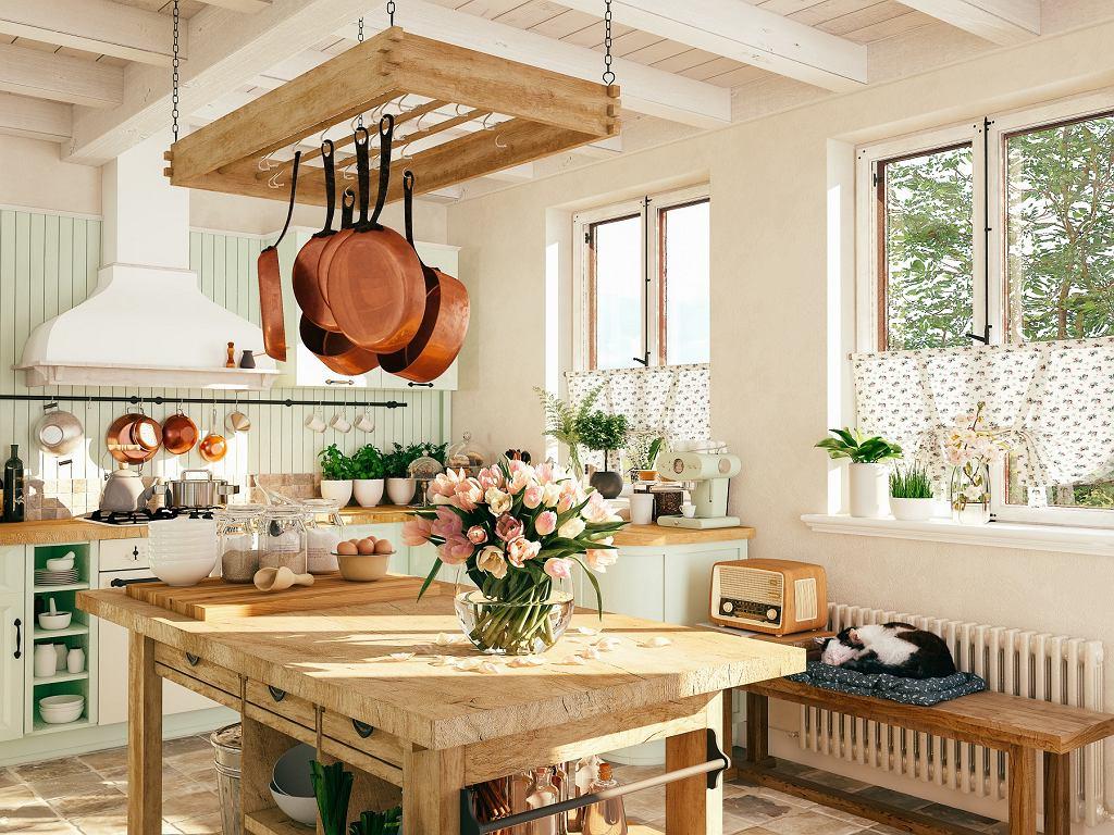 Meble i wnętrza w stylu rustykalnym