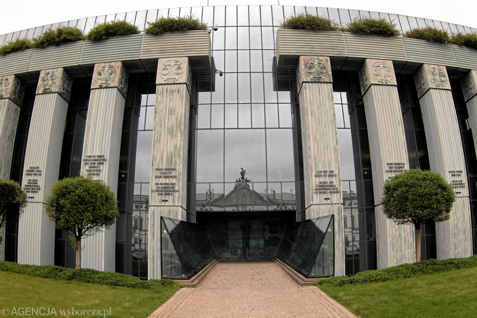 Gmach Sądu Najwyższego. Warszawa, pl. Krasińskich