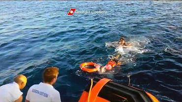 Akcja ratunkowa u wybrzeży Lampedusy