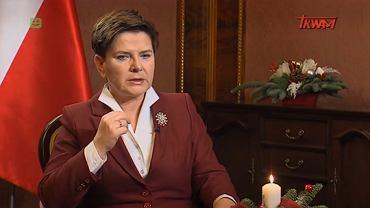 Beata Szydło w TV Trwam w 2015