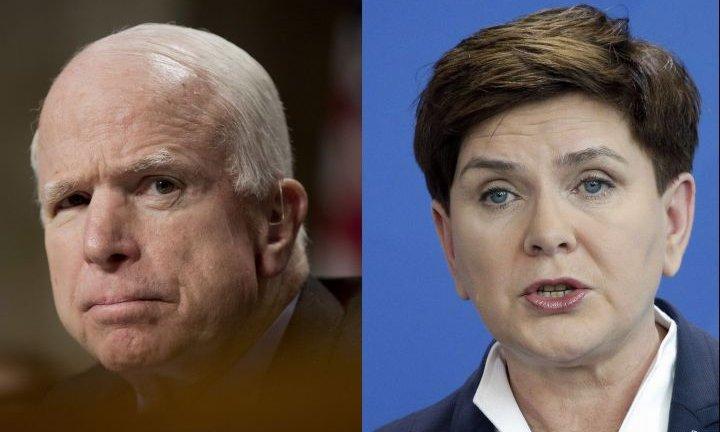 John McCain/Beata Szydło