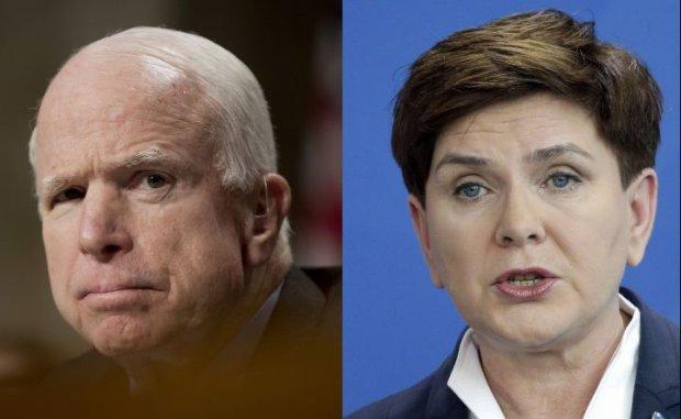 John McCain/Beata Szyd�o