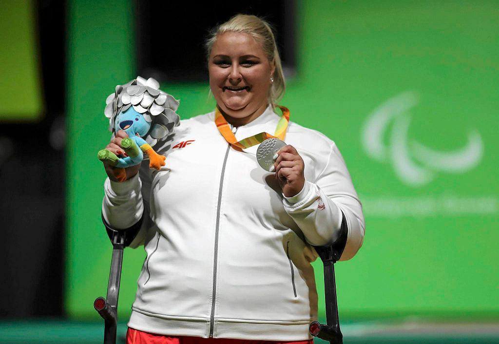 Marzena Zięba - srebrna medalistka igrzysk paraolimpijskich w Rio