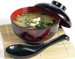 Zupa miso shiro