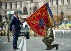 Na Ukrainie święto niepodległości w cieniu wojny