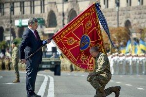 Na Ukrainie �wi�to niepodleg�o�ci w cieniu wojny
