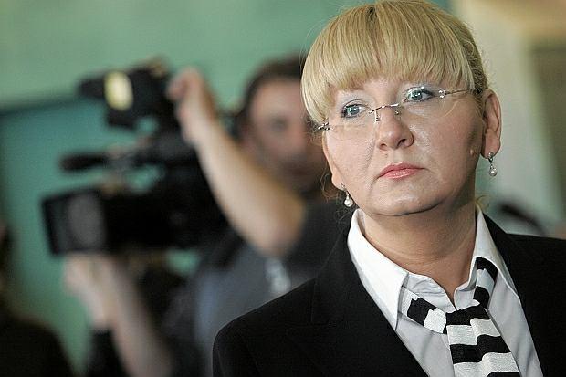 Beata Sawicka podczas procesu apelacyjnego
