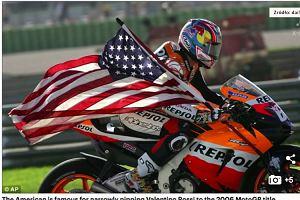 Były mistrz świata MotoGP Nicky Hayden zmarł w wieku 35 lat. To efekt wypadku, w którym Amerykanin brał udział podczas przejażdżki rowerowej we Włoszech