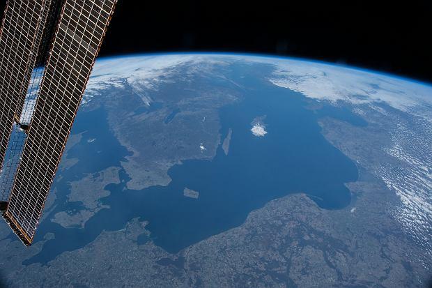 Polska z pokładu ISS