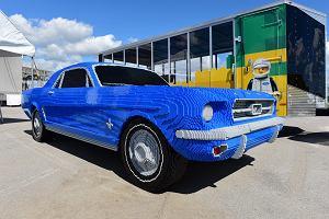 Ford Mustang | Wielki model z klocków Lego