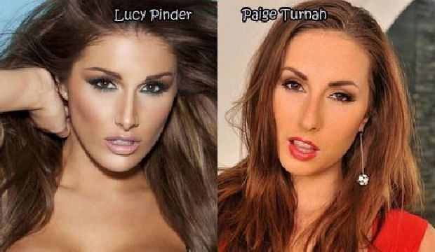 Lucy Pinder, Paige Turnah