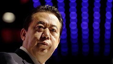 Meng Hongwei, szef interpolu
