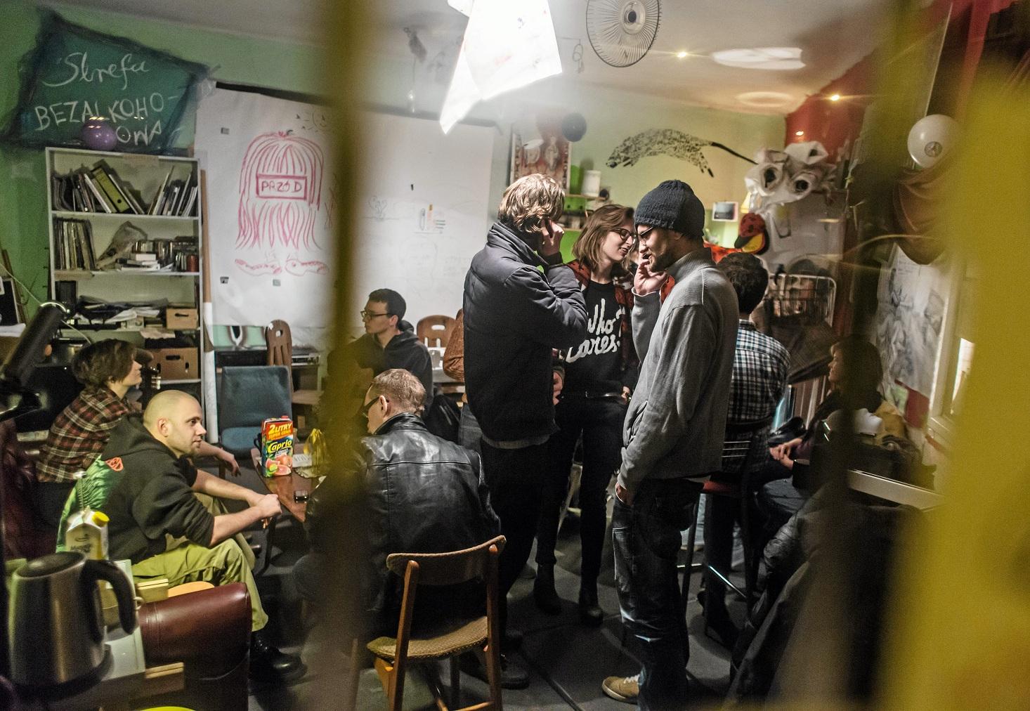 Cafe Fińska (fot. Mateusz Skwarczek / Agencja Gazeta)