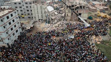 Bangladesz:ruiny Rana Plaza