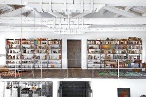 Wnętrza: dom w starej fabryce tytoniu