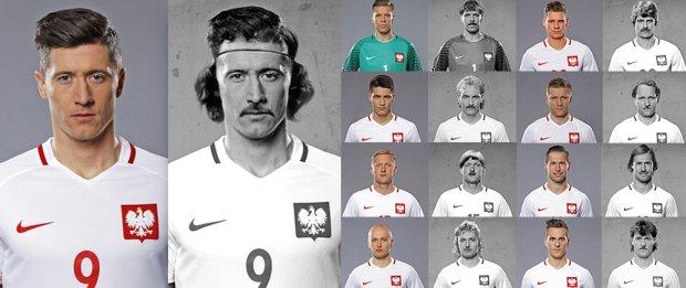 Polscy piłkarze we fryzurach z czasów Orłów Górskiego. Wyglądają FANTASTYCZNIE [ZDJĘCIA]
