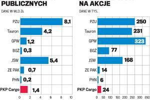 Zyskowny debiut akcji PKP Cargo. Przebitka 17,9 proc.